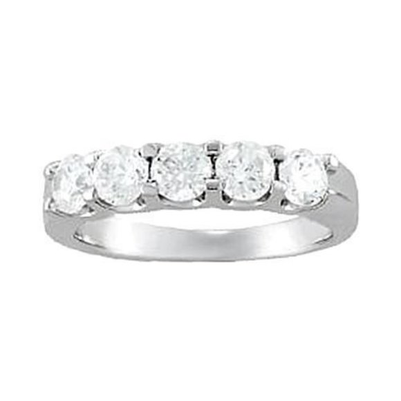 Jewelry - Prong Set White Gold 14K 1.25 Carat Diamond